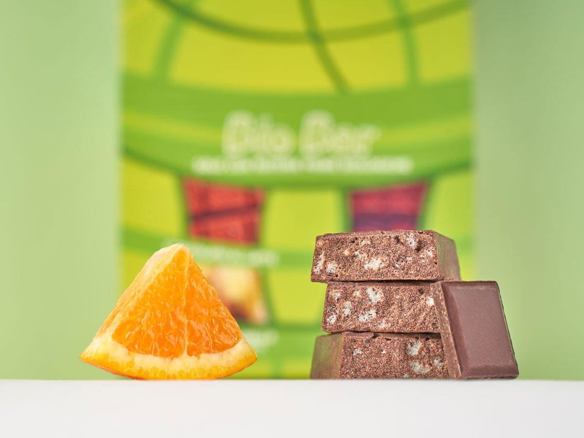 biobar barretta vegetale cioccolato arancia