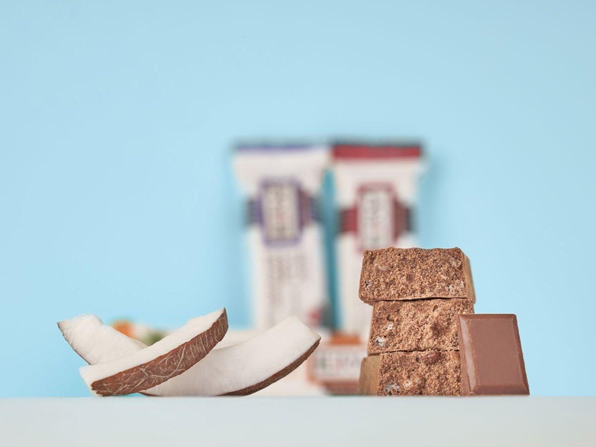 prolive barretta proteica cioccolato latte cocco