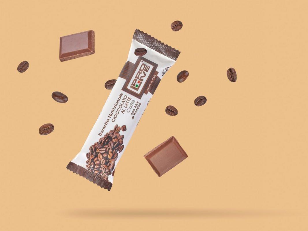prolive barretta nutrizionale proteica cioccolato latte caffe