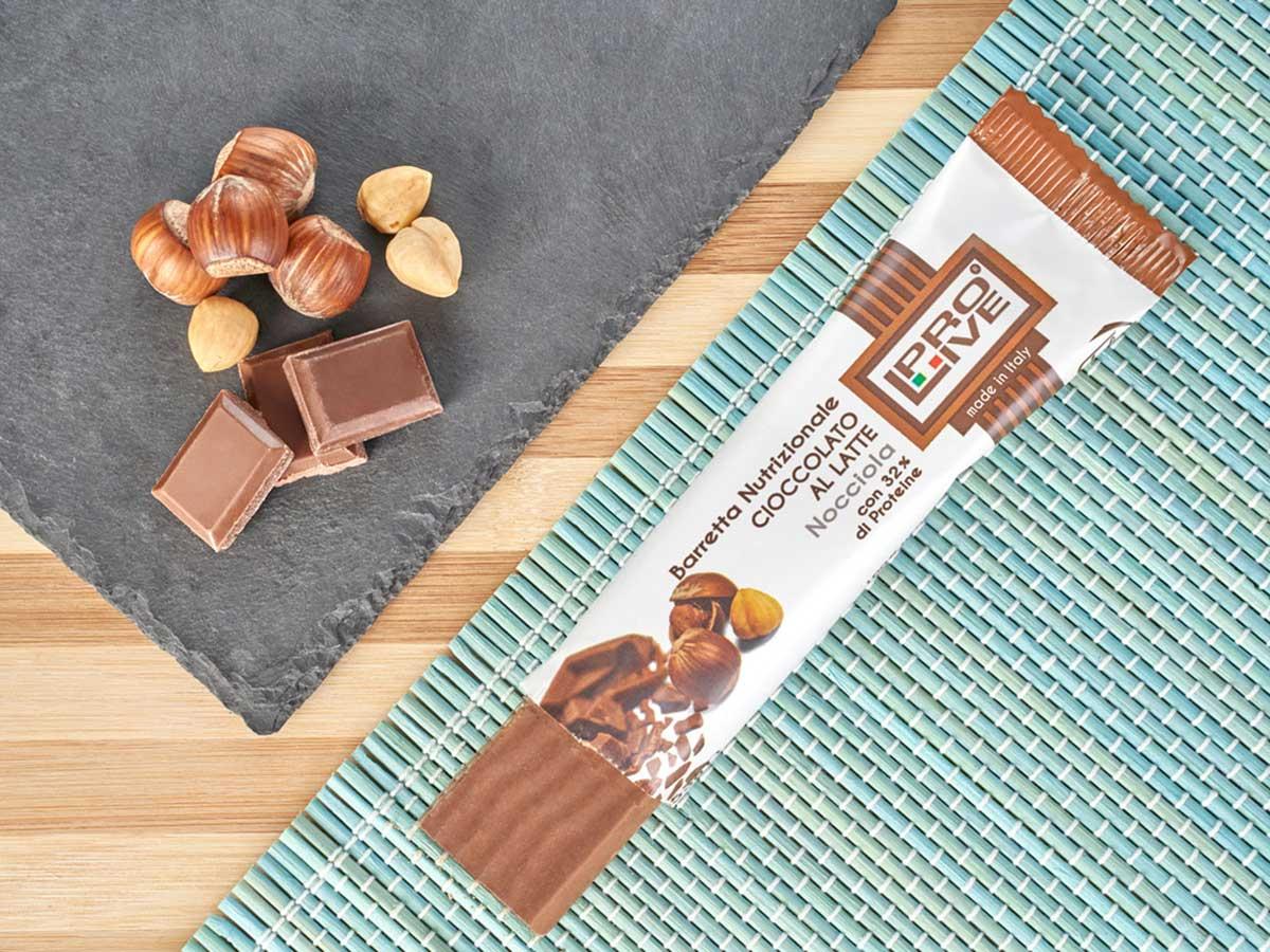 prolive barretta nutrizionale cioccolato latte nocciola