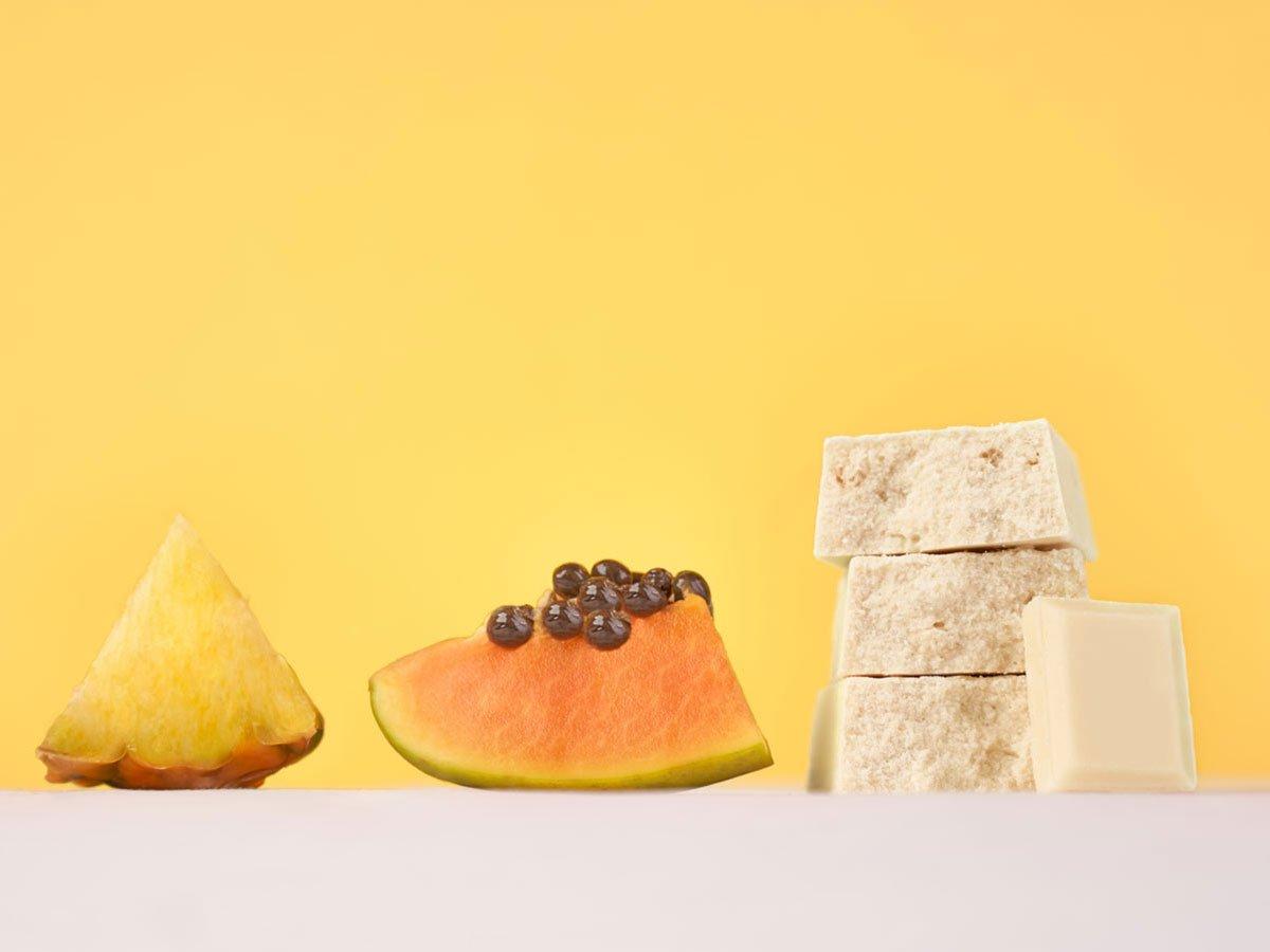 Vis Protein barretta proteica gusto ananas e papaya