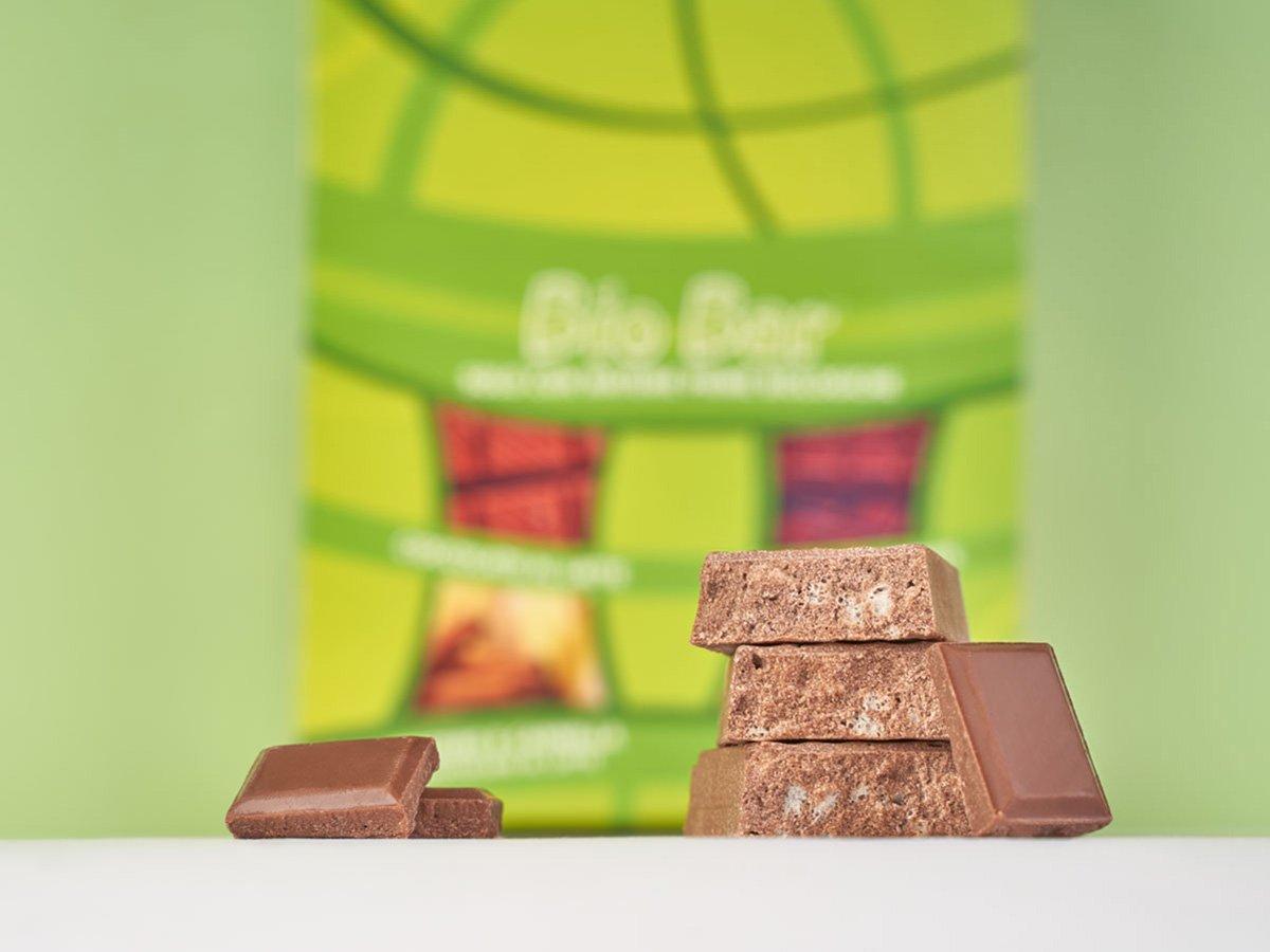 biobar barretta vegetale cioccolato latte