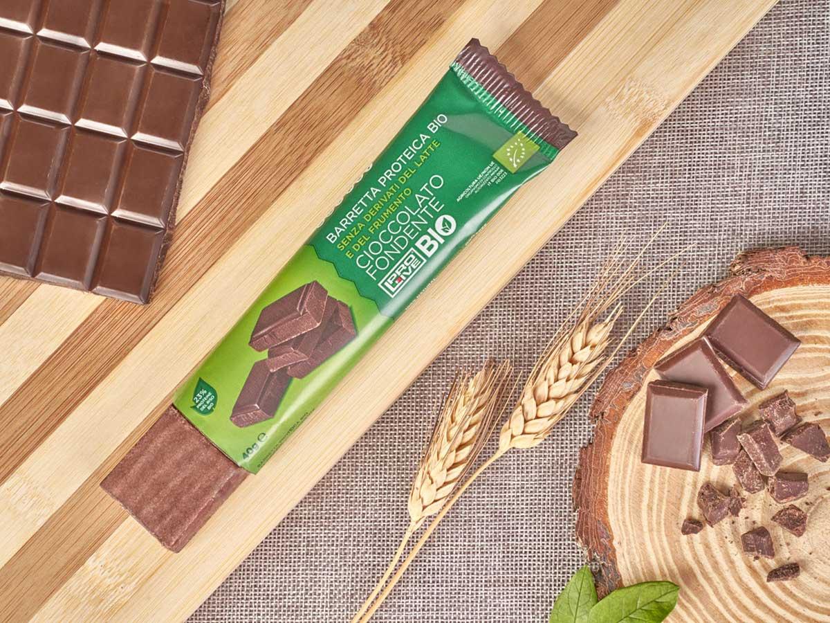 Prolive Bio barretta biologica cioccolato fondente