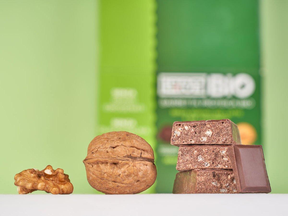 Prolive Bio barretta biologica cioccolato fondente noce