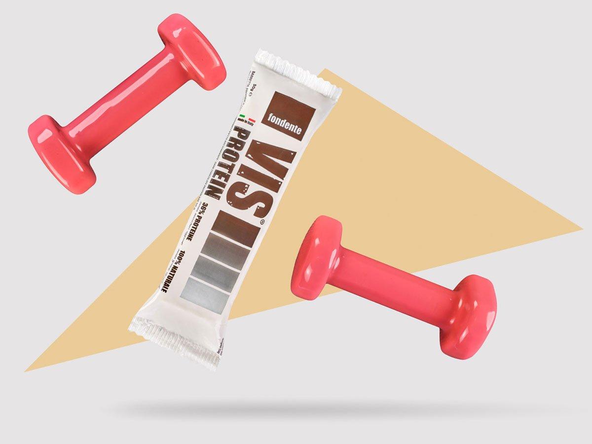 Vis Protein barretta proteica gusto fondente