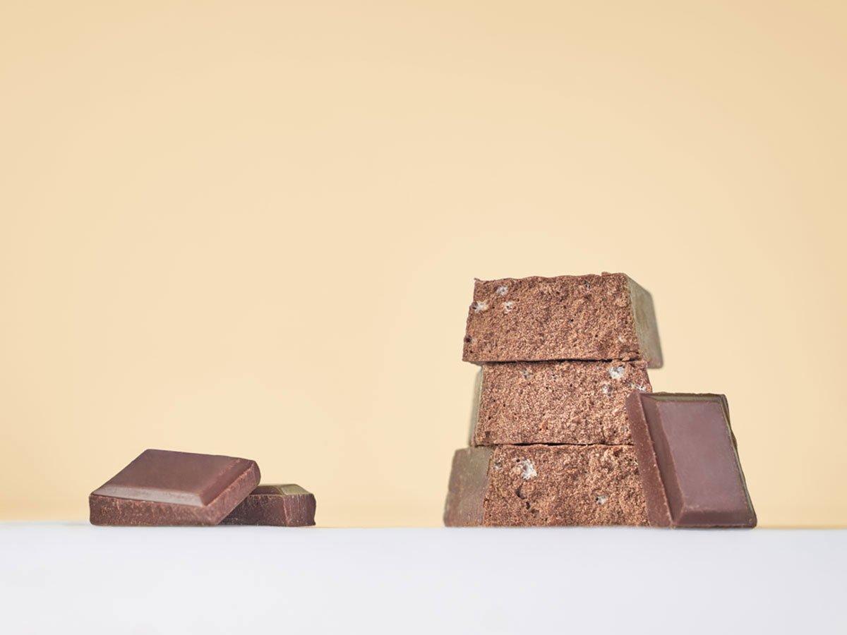 Vis Protein barretta proteica gusto cioccolato fondente