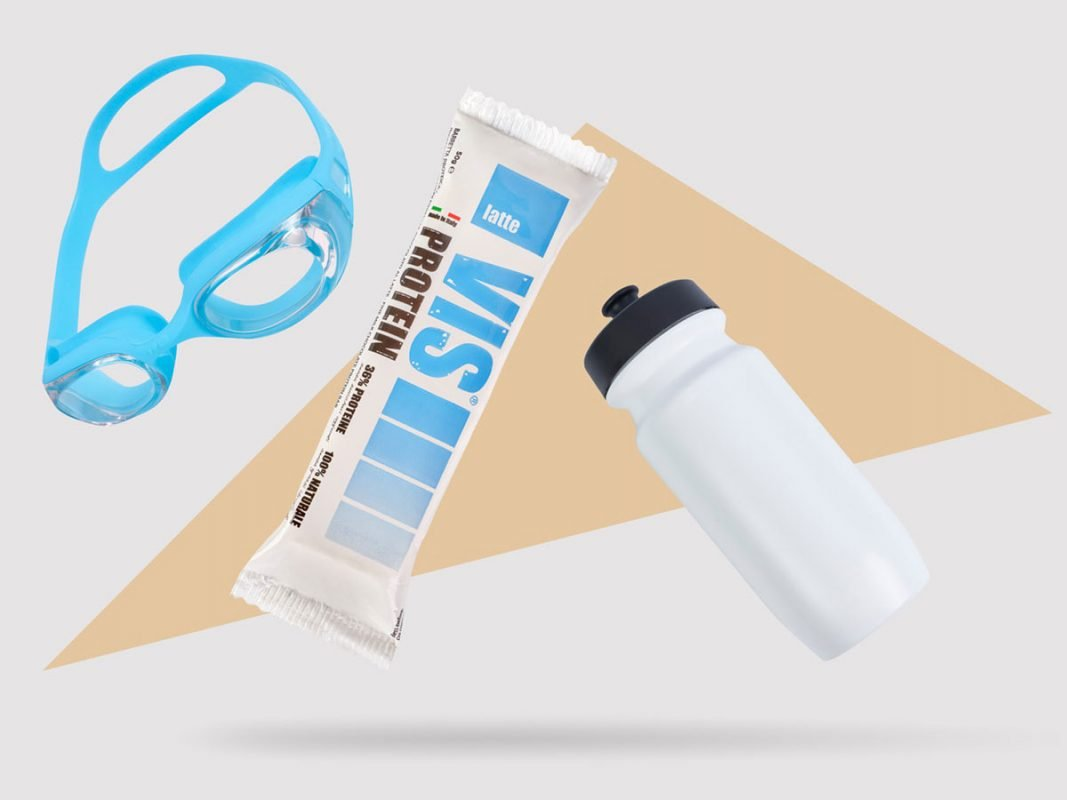 Vis Protein barretta proteica con cioccolato al latte