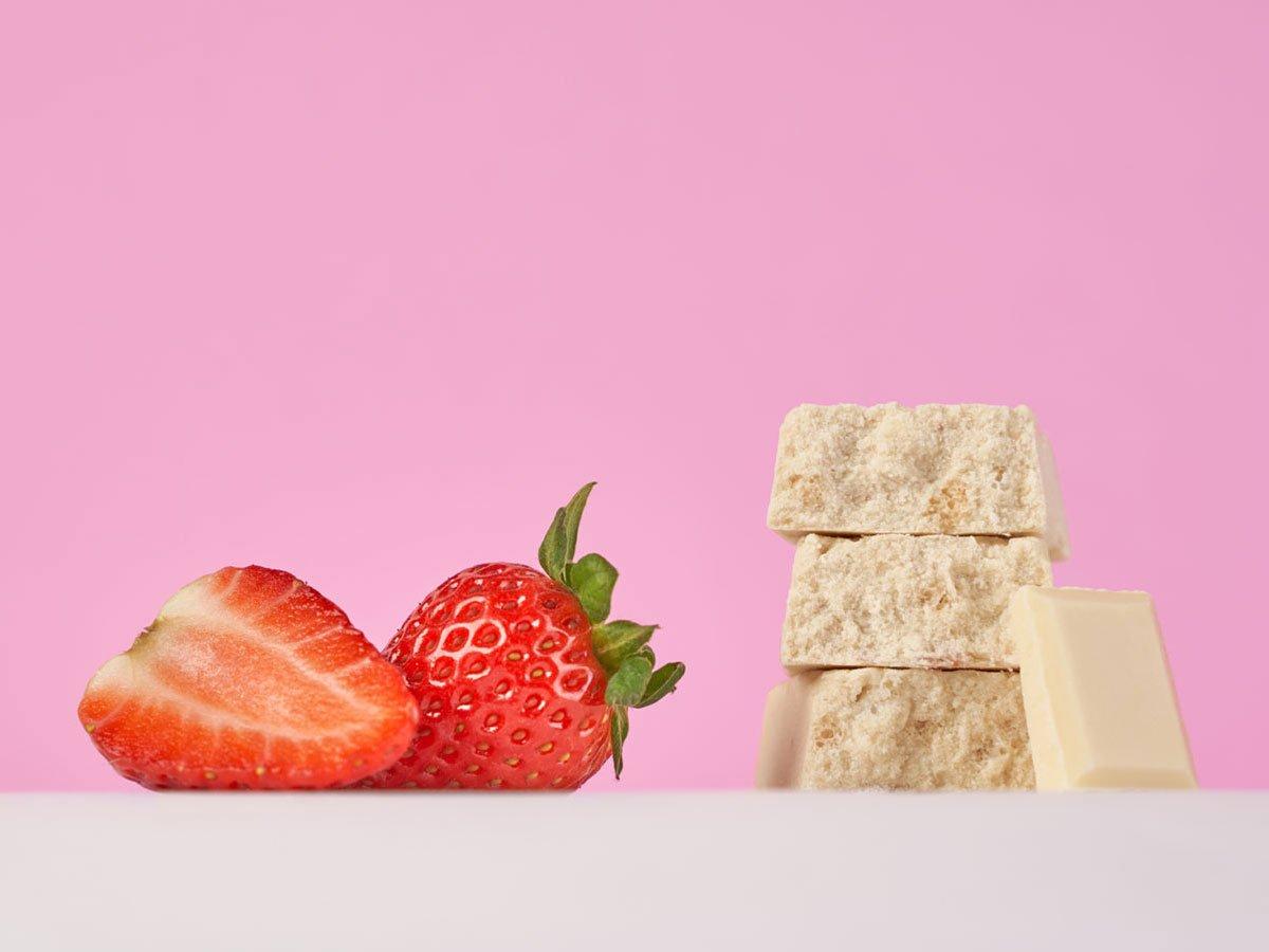 Vis Protein barretta proteica con fragole