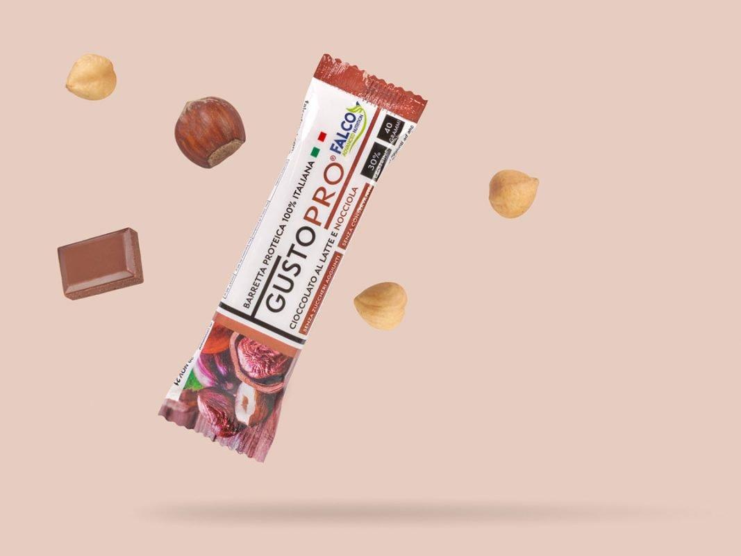 Gusto Pro Barretta Proteica cioccolato alla nocciola