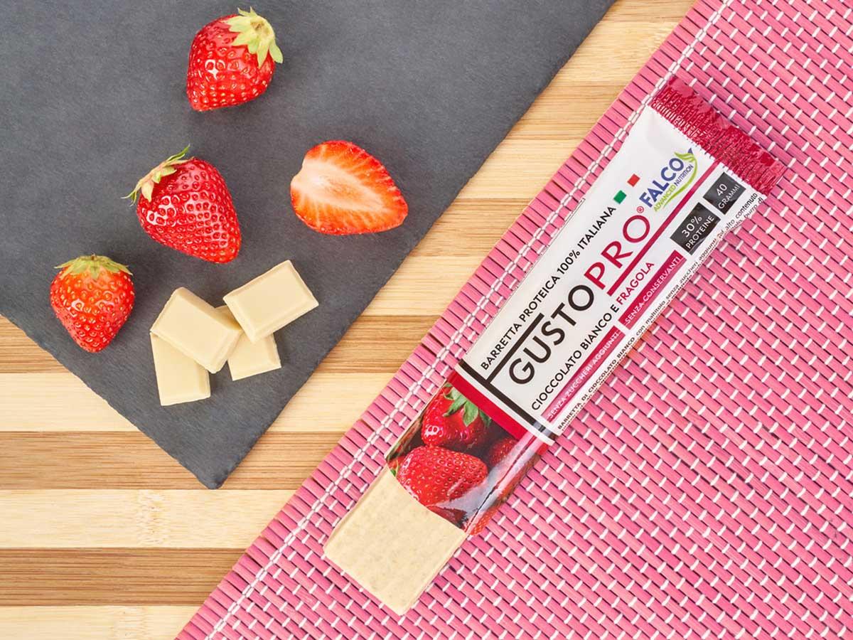 Gusto Pro Barretta Proteica cioccolato al maltitolo gusto Frgola