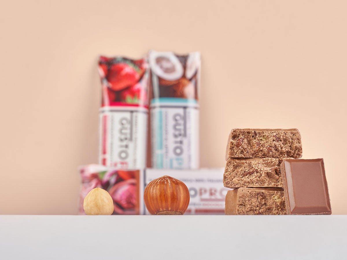 Gusto Pro Barretta Proteica cioccolato gusto nocciola